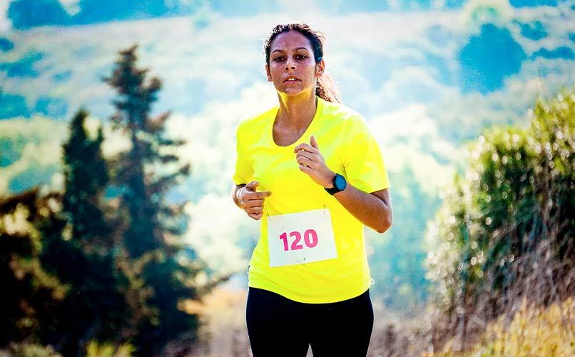 Calcul vitesse moyenne course à pied