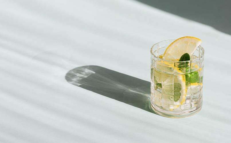 eau tiède citron
